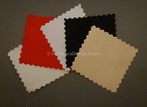pesado Satén con respaldo de algodón para Corsetry 2 Colores de alta calidad.