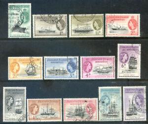 Falkland Islands Dependencies 1954 Definitives used to 5sh (2020/12/13#05