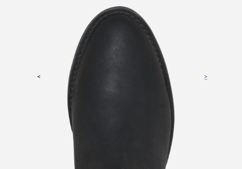 Establo® Roper Leather Dress Or Work Boots 4 Color Choices