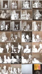 Hart Arbeitend 16mm Privatfilm Um 1935 Hochzeit Polizei Offizier #28 Zelluloid