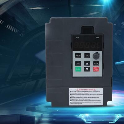 220V Einphasig Frequenzumrichter VFD Drehzahlregler PWM 0.4KW AC Motor