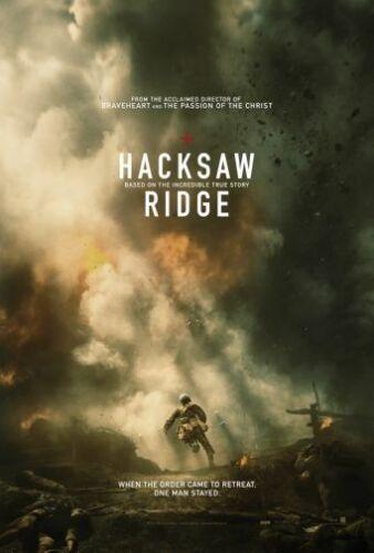 Hacksaw Ridge Movie Poster 24x36 USA Seller