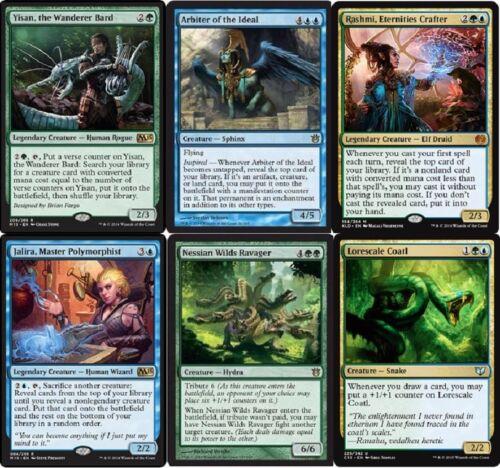 Yisan/'s Combo Deck Magic Gathering Wanderer Bard MTG  60 Cards Rashmi
