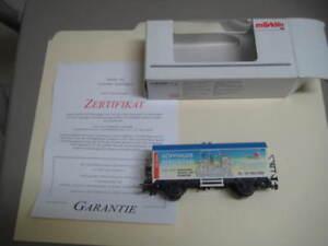 Marklin H0 4415-2000714 Goppinger Maientag Box Wagon w/ Certificate - LNIB
