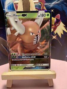 Pinsir GX 6/68 Hidden Fates - NM Full Art Ultra Rare Pokémon Card