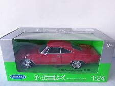 Welly 1/24 Scale red 1965 Chevy Impala super sport 396 with rally wheels w/ box