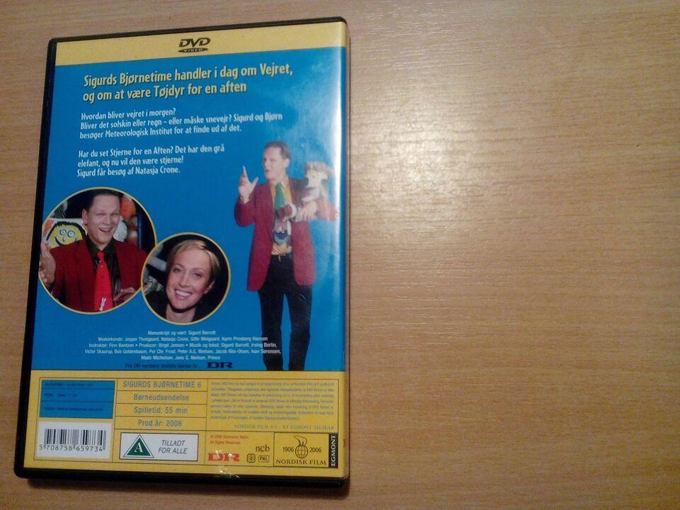 Sigurds bjørne time 6, DVD, andet