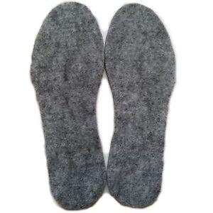 INSOLES FOR BOOTS - PEDAG FELT INSERTS FOR WOMEN MEN SIZE UK 3.5-11 EU 37-46 PL
