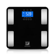 luoyiman wireless scale body weight fat bmi digital backlit lcd