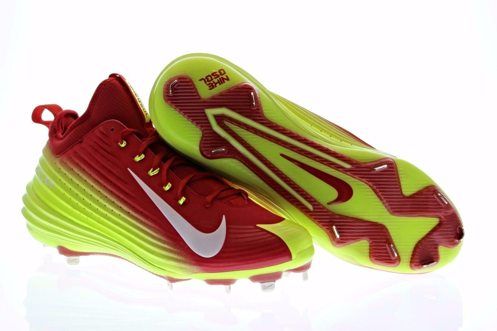 finest selection ca630 60c46 Nike Vapor Trout Hombre baseball de metal metal metal spike Rojo Blanco  654853-617 cómodo