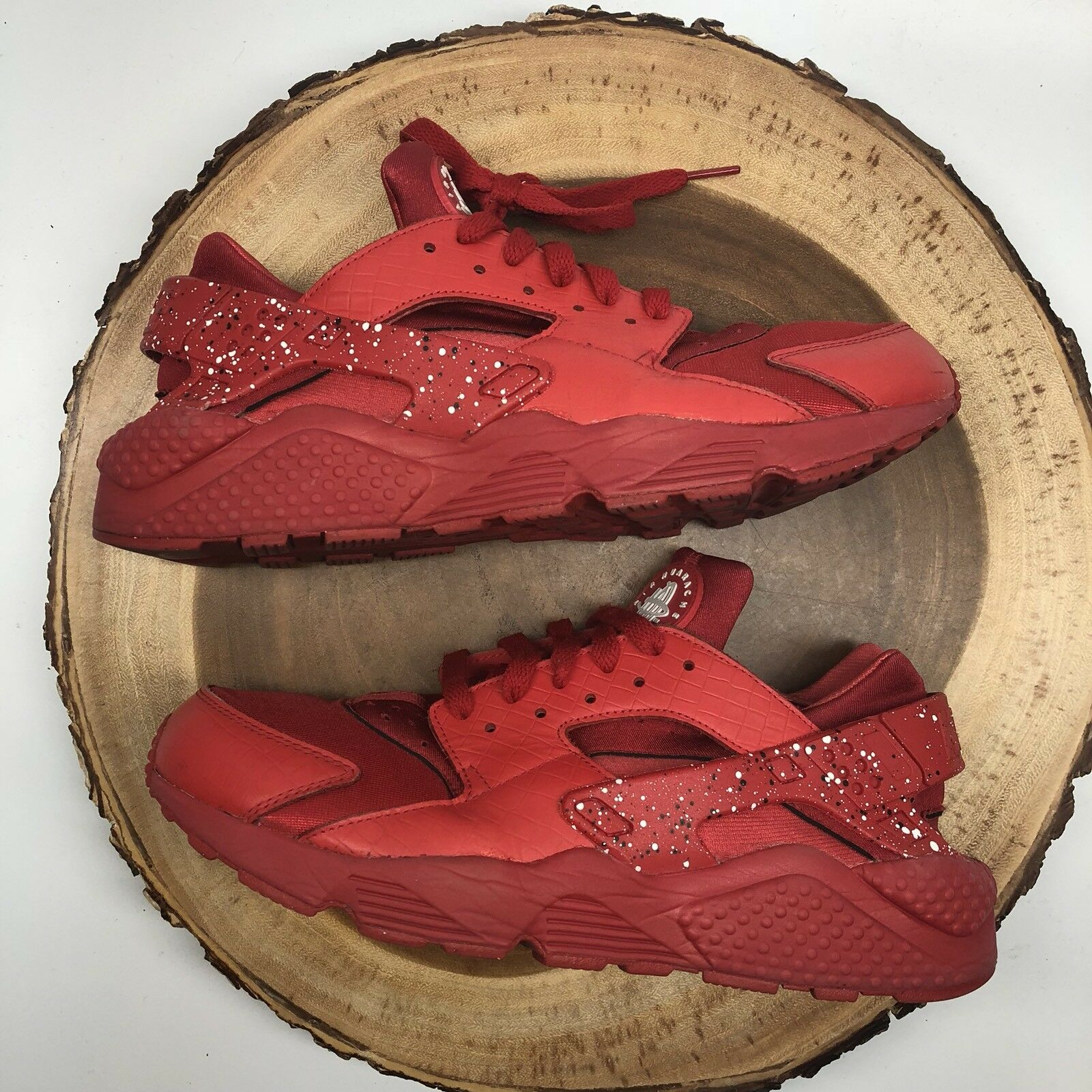 Nike Air Huarache NikeiD Red Splatter 777330-997 Comfortable The latest discount shoes for men and women