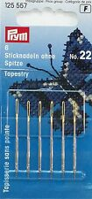 1 x Packet of 6 Tapestry Needles Prym Size 22 4002271255574 125 557 NEW