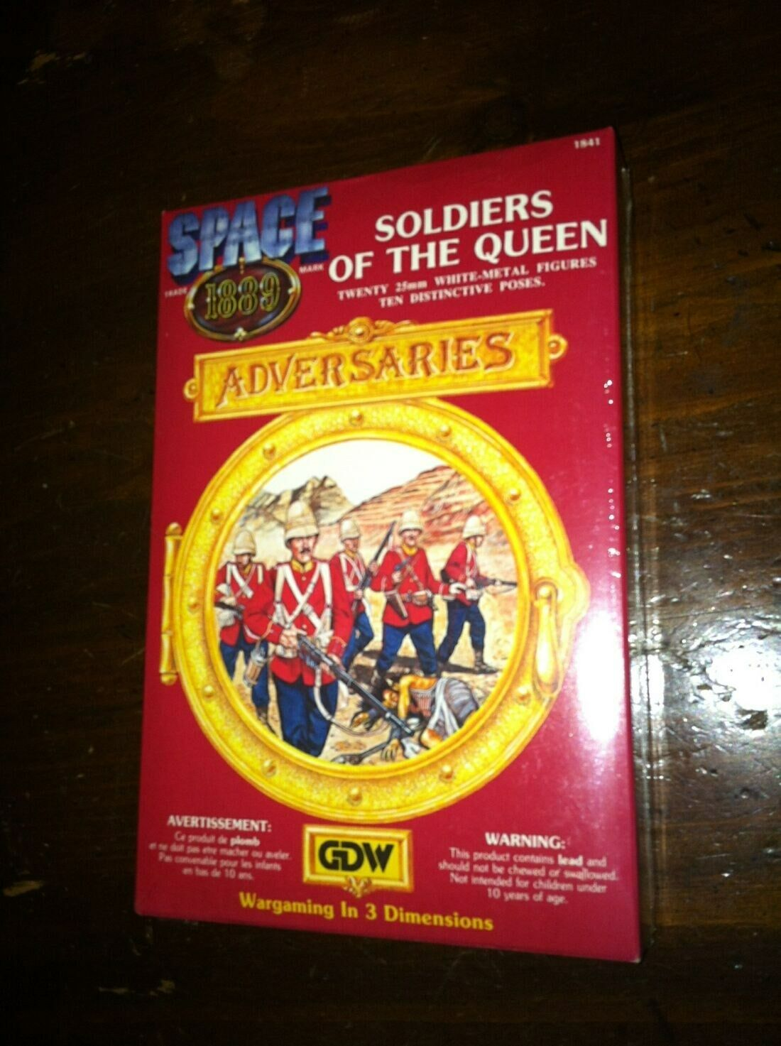 GDW RAFM Space 1889 Soldiers of the Queen miniatures 25mm sealed steampunk