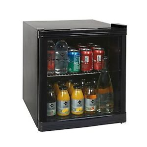 vetrinetta refrigerata mini bar frigo da tavolo nero porta vetrina con in vetro ebay. Black Bedroom Furniture Sets. Home Design Ideas