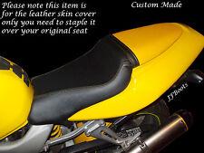 Amarillo Y Negro Custom encaja Honda Vtr 1000 F Firestorm 97-05 Doble Bicicleta Cubierta De Asiento