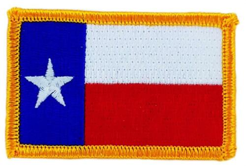 Patch embroidered Patch Flag TEXAS Fusible USA AMERICAN UNITED STATES