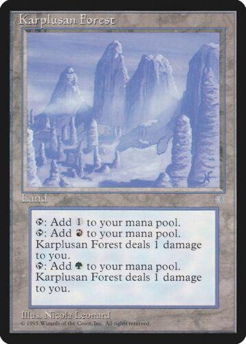 Karplusan Forest Ice Age NM-M Land Rare MAGIC THE GATHERING MTG CARD ABUGames