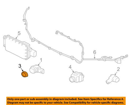 JAGUAR OEM F-Type Front Bumper Grille Grill-Park Sensor Retainer Ring C2Z11732