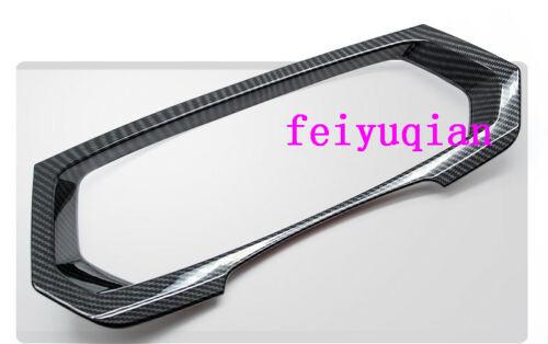 Carbon fiber Inner Dashboard frame Cover trim for Volkswagen VW Tiguan 2018 2019