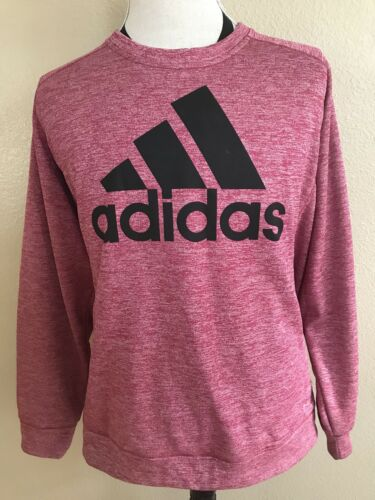 ADIDAS Climawarm Mens Size 2XL Red Long Sleeve Ath