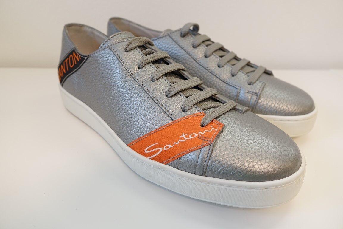Santoni Scarpe Scarpe da uomo per il tempo libero Scarpe scarpe da ginnastica-Tg. 8 (42) - NUOVO ORIG.