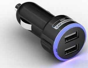 Car-Charger-Double-USB-Port-Dual-12V-Cigarette-Socket-Lighter-Plug-Power-Adapter