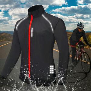 Hombre Ciclismo chaqueta bicicleta chaqueta Bike Wear Jacket Reflexivo Maillots