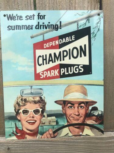SPARK PLUGS Art Vintage style metal sign