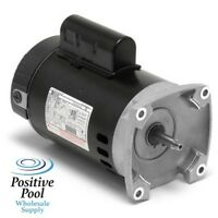 1 hp 3450rpm 56Y Frame 115/230 volts Square Flange Pool Pump Replacement Motor AO Smith Electric Mot (B2853) Garden