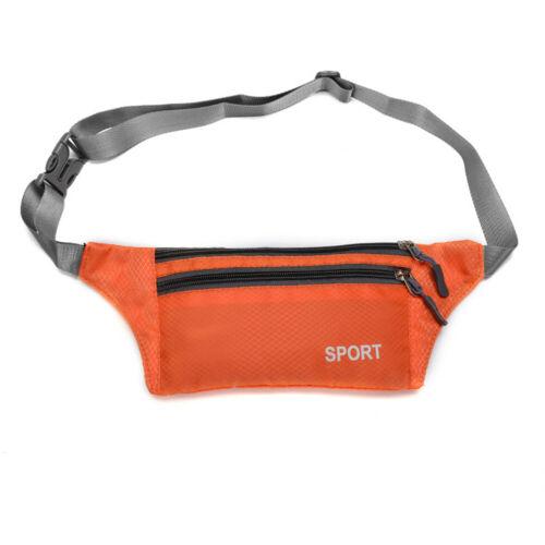 Unisex Sport Fanny Pack Waist Bag Cycling Running Hike Bike Belt Pouch Purses