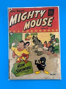 MIGHTY-MOUSE-24-ST-JOHN-COMICS-1951-GD