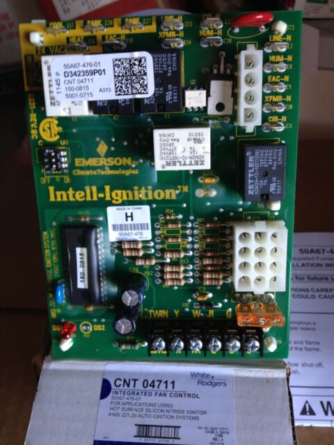 OEM Trane American Standard CNT04711 D342359P01 IFC Board Emerson # 50A67-476