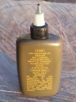 Us Military Lsa Weapons Oil Brand 4 Oz Bottle - Gun Oil Medium Bray Co Usa