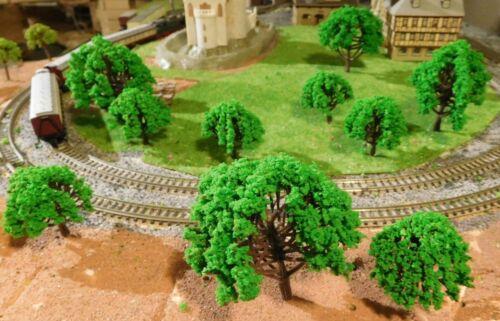 par 5 pièces 50 et hauteur 80 mm-LIVRAISON GRATUITE 10 moyens verte arbres