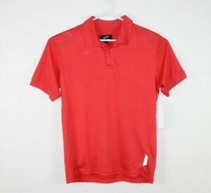 Alpinestars-Genuine-Corporate-Tech-Polo-Shirt-Size-Men-039-s-Small-Red