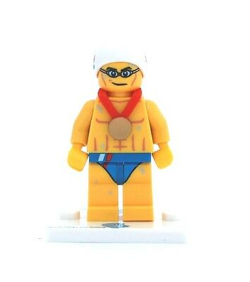 NEW LEGO GB Olympic Team MINIFIGURES SERIES 8909 - Stealth Swimmer