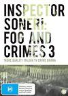 Inspector Soneri - Fog And Crimes : Vol 3 (DVD, 2014, 2-Disc Set)