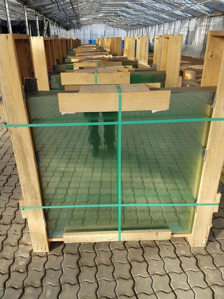 Glas til selvbyg af drivhus & Orangeri