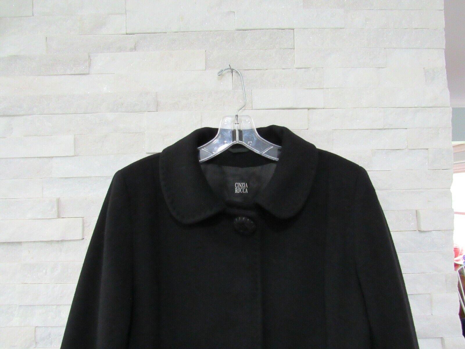 Cinzia Rocca Black Wool Cashmere Princess Seams L… - image 2