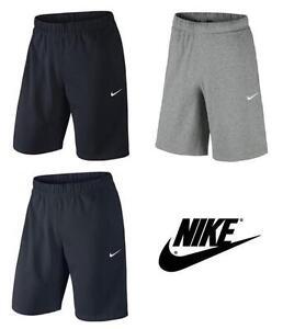 9a06f8d0f24a9b Mens Nike Fleece Shorts, Jogging Shorts, Long Sport Gym Shorts - S ...