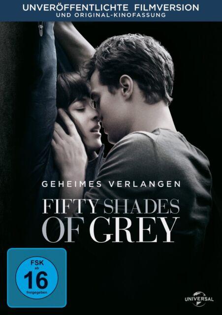 Fifty Shades of Grey - Geheimes Verlangen DVD NEU & OVP