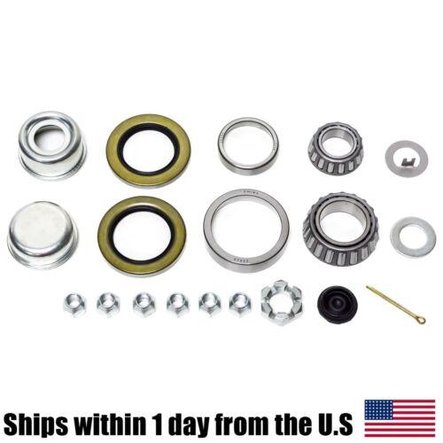 K3-100 5,200-7k lb.Trailer Bearing Kit 25580//20 15123//15245 Bearings Seal 2
