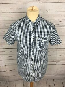 Men-039-s-Levi-Shirt-Small-Short-Sleeved-Great-Condition