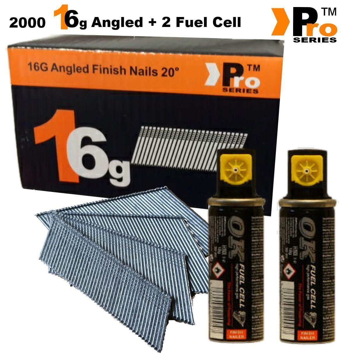 Finish Nails  020 Paslode Hitachi Bostitch 16G Second Fix Nails