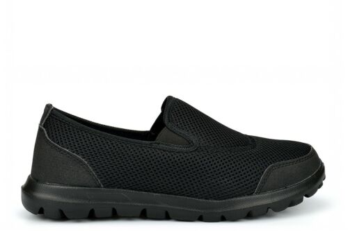 Super Light Weight Slip On Shoes Womens Work Shoes Ladies Boys Girls Trainers