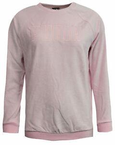 Puma Velour Womens Sweatshirt Velvet