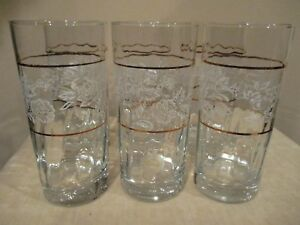 Pasabahce-Circle-Art-of-Glass-White-Rose-Tumblers-Made-in-Turkey-6