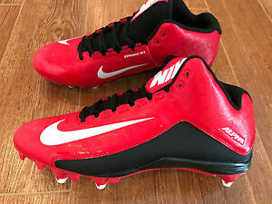 Image is loading NEW-Nike-Alpha-Strike-2-Mid-D-Football-