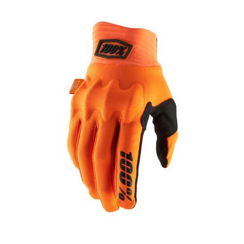 Cycling Full Finger Gloves 100/% Cognito D30 Orange Medium