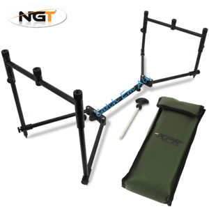 XPR Fishing Pod Rod Rest Fully Adjustable Lightweight /& Compact NGT Carp Fishing